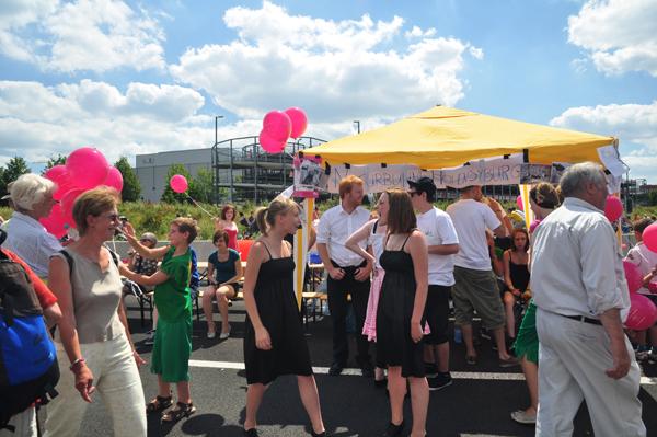 Still-Leben auf A40, Dortmund