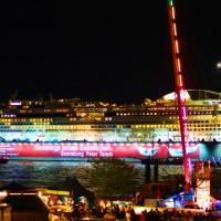 Aida in HH beim Hafenfest