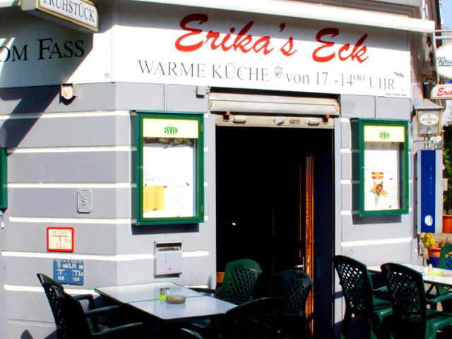Erikas Eck: warme Küche von 17 Uhr bis 14 Uhr