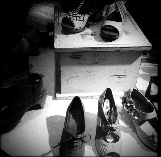 Schuhe, Schuhe, Schuhe...New York gleicht einem Schuhparadies