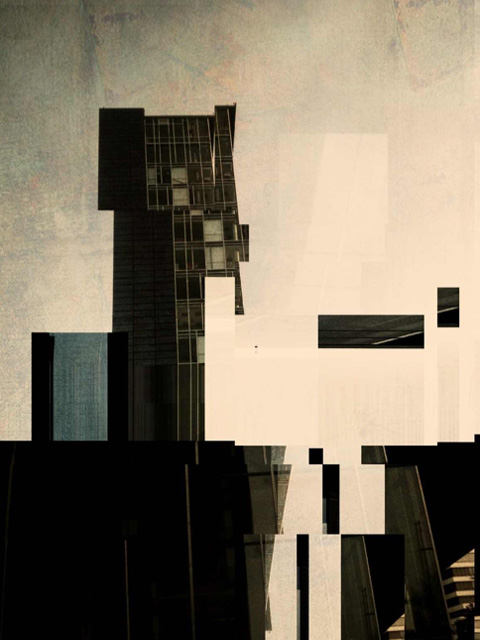 iPhone Art Tower by randallmcmurphy