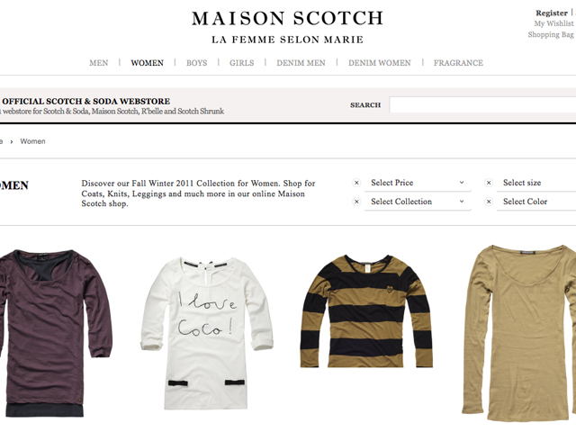 Maison Scotch Fall Winter Collection: I love Coco