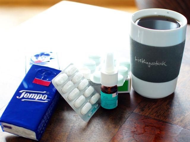 Mias Medizin und der ungeliebte Tee