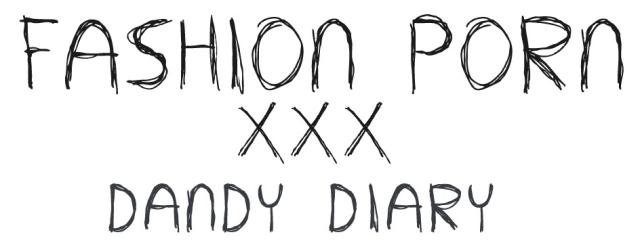 fashionporn von dandy diary – mitten ins schwarze?
