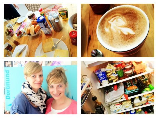 Frühstück deluxe, Cappuccino, Schneggen unter sich und volle Kühlschränke - ein Wochenende in der Heimat