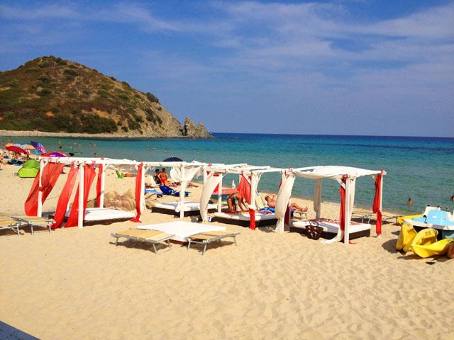 Iki Beach Club Sardinien Castiadas