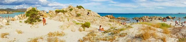 Sardinien: Strand-Impressionen