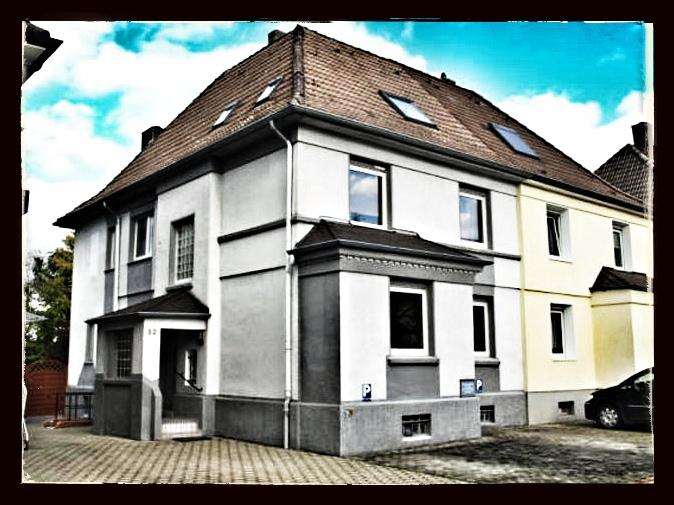 Das Haus meiner Kindheit, meiner Eltern und Großeltern