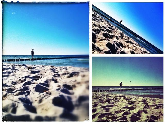 Am Strand von Zingst auf Fischland-Darß-Zingst || alle Pics: © Mia Kloeting