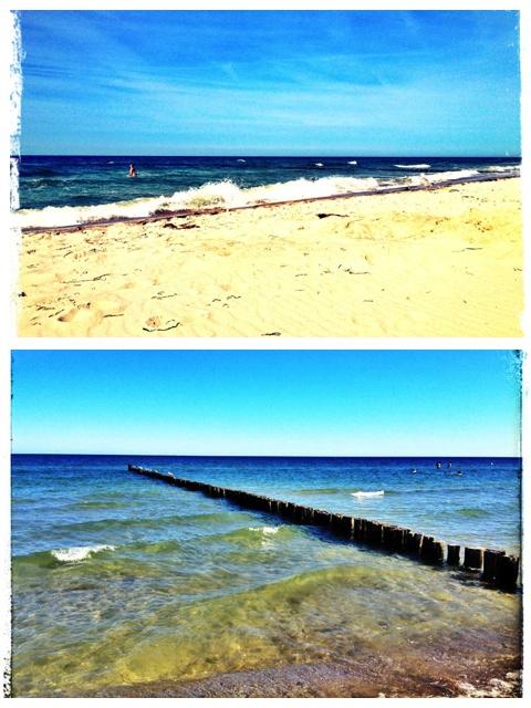 Am Strand von Zingst auf Fischland-Darß-Zingst