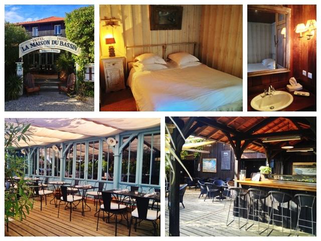 Cap Ferret, Hotel La Maison du Bassin, Frankreich