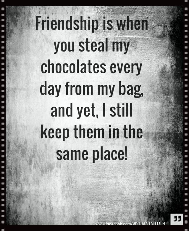 Visual Statements Freundschaft-Weisheit