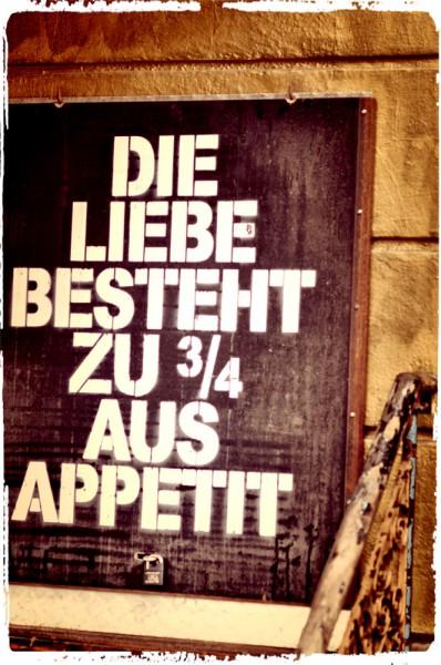 Liebe Appetit: Wahrheit © Mia Kloeting