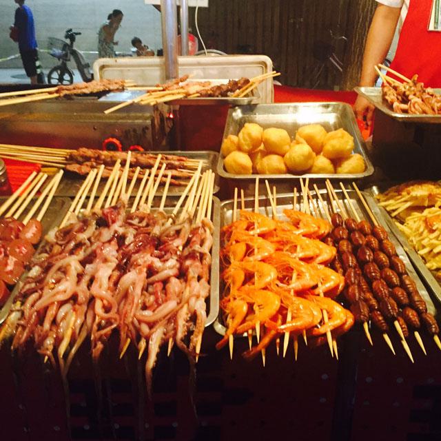 Night Market in Beijing, Donghuamen Night Market