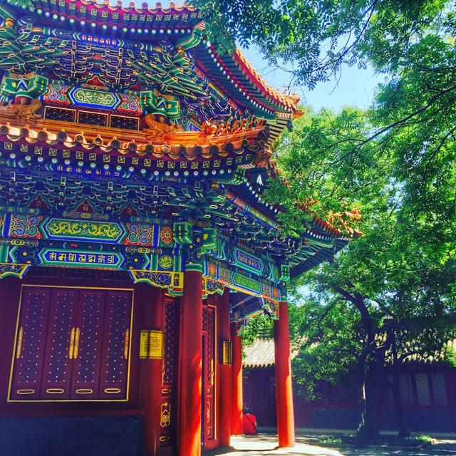 Tempel und Kloster, Paläste, Architektur in Beijing