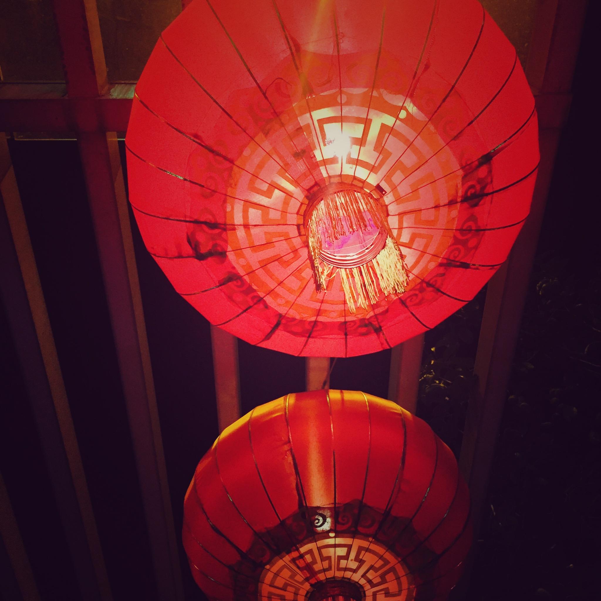 chinesische Leuchten-Romantik