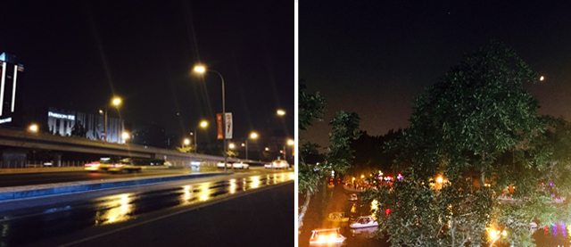 Beijing bei Nacht