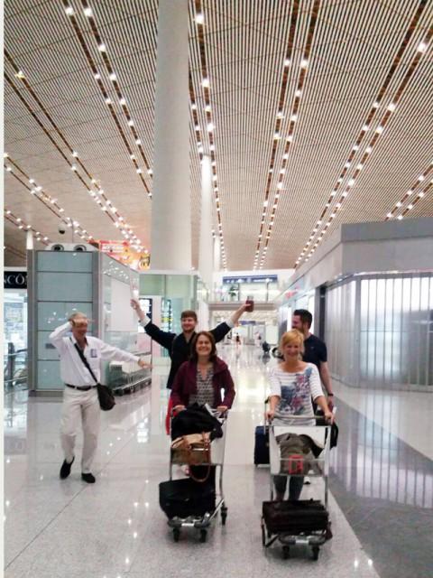 Flughafen: Bye Bye Beijing