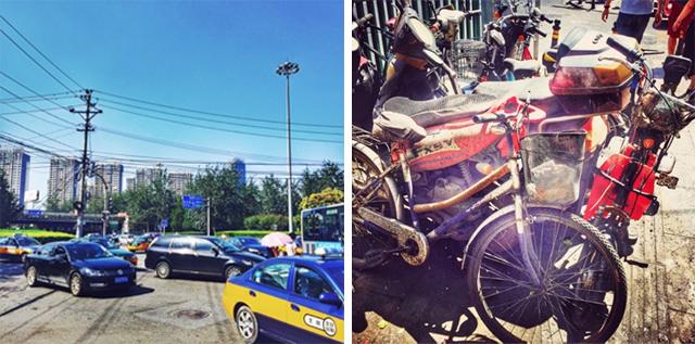 Verkehr in Beijing
