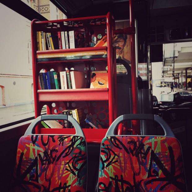 Bus-Buchhaltestelle