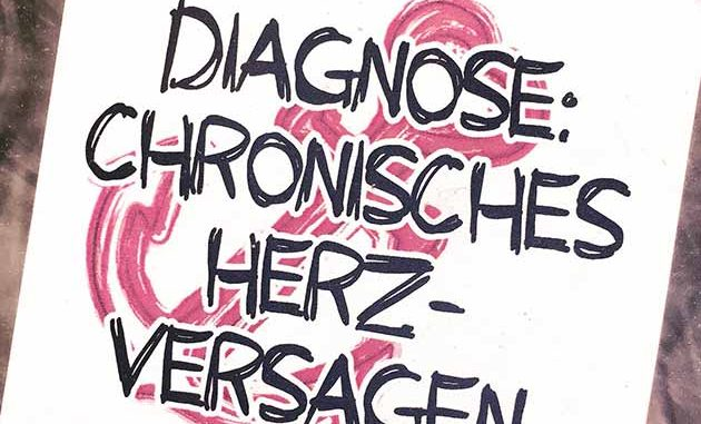 Diagnose chronisches Herzversagen, #STPOESIE || Foto: © Mia Kloeting